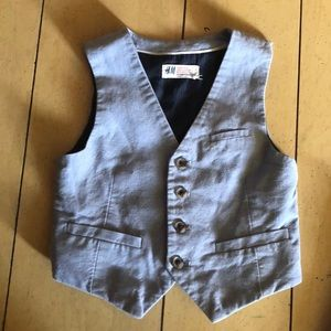 Boys vest and shorts